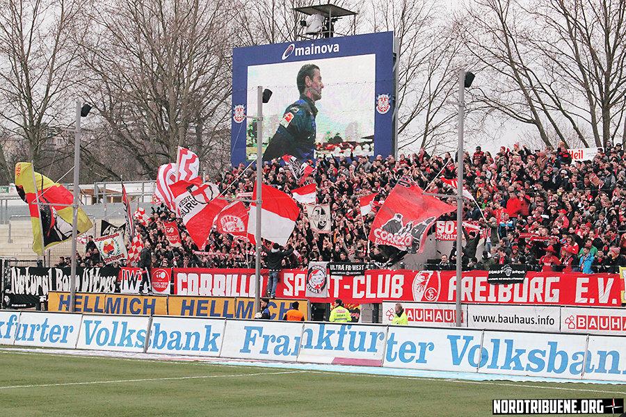 FSV Frankfurt - SC Freiburg (1:3) / 26. Spieltag, 2. Bundesliga