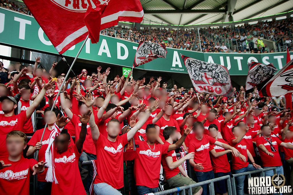 VfL Wolfsburg - SC Freiburg (2:2) / 32. Spieltag, 1. Bundesliga