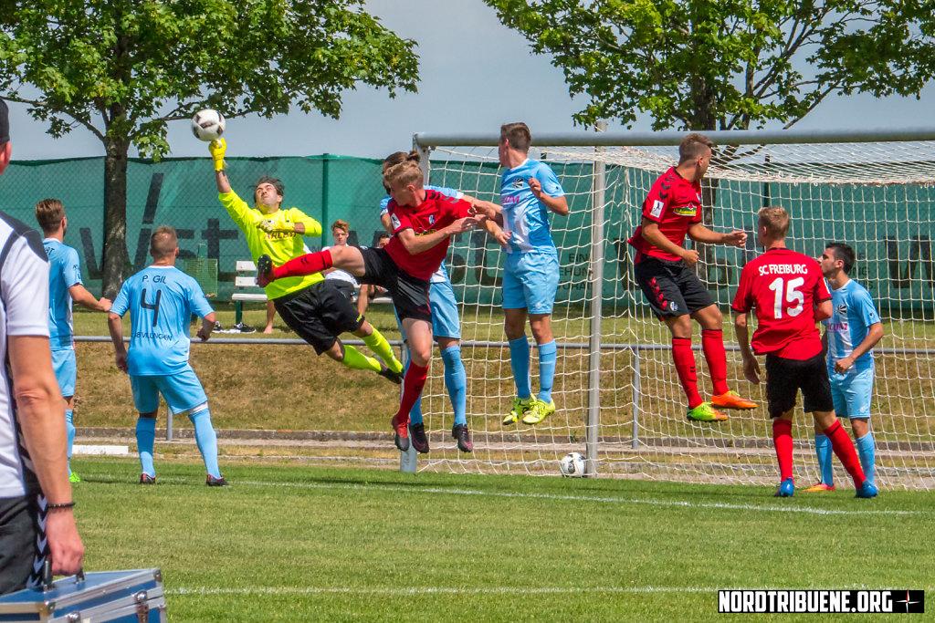 SC Freiburg II - FC 08 Villingen (3:1)