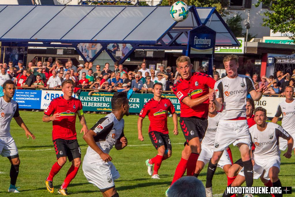 SC Freiburg - SV Sandhausen (0:3)